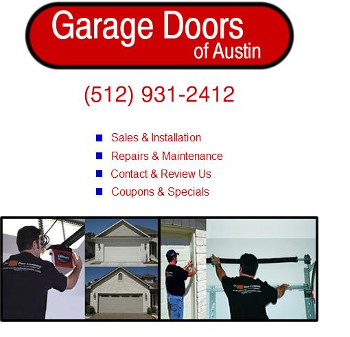 Austin Garage Door Repair And Sales Service For Bee Cave, Elgin, Lago  Vista, Lake Travis, Lakeway, Pflugerville, Round Rock, West Lake Hills And  ...